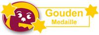gouden medaille voor wijn