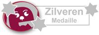 zilveren medaille van wijngekken.nl