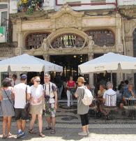 het meest bekende café in porto, majestic