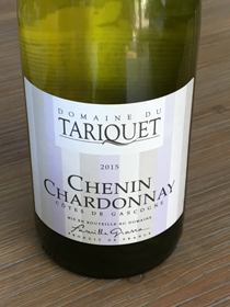 Domaine du Tariquet Chenin Chardonnay 2015, IGP Cotes de Gascogne, Frankrijk
