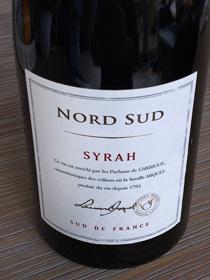 Nord Sud Syrah 2015, IGP Pays d'Oc, Frankrijk