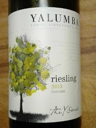 Yalumba 2015, Riesling, Barossa Valley, Australië