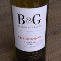 B & G Chardonnay Réserve 2015, IGP Pays d'Oc, Frankrijk