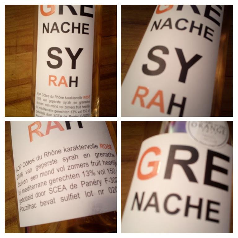 Grenache Syrah, Rosé van de Plus