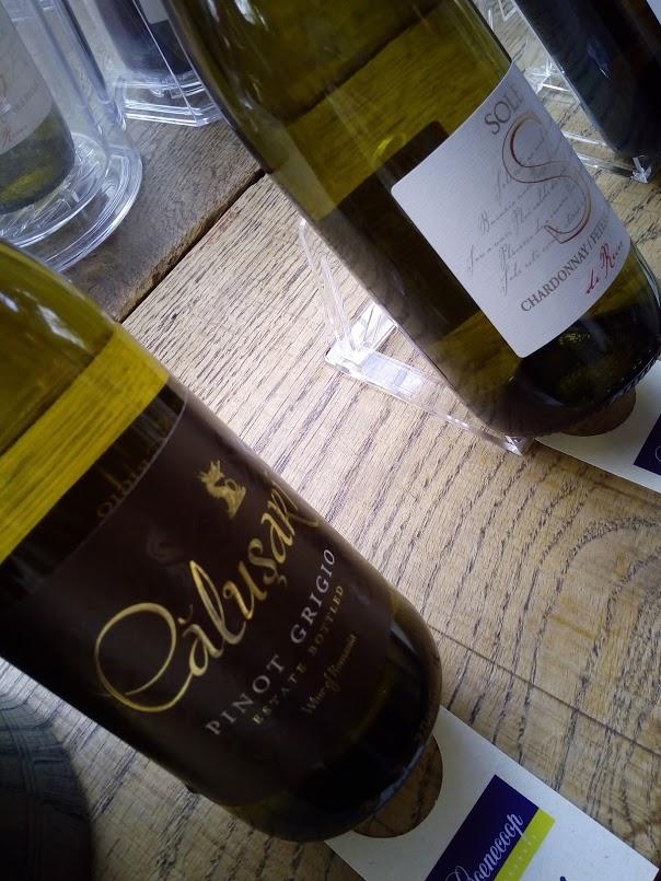 Wijngekken kunnen goed wijn proeven - calusari pinot grigio