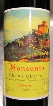 Monsanto 2003, Chianti Classico