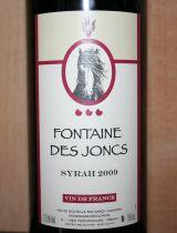 Fontaine Des Joncs Syrah 2009