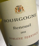 Domaine Terneynck 2010, Renouel, Bourgogne Blanc