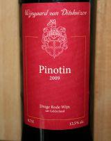 Wijngaard van Ditshuizen Pinotin 2009