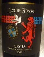 Leone Rosso 2009, Orcia. DOC Italië