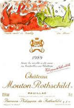 Chateau Mouton Rothschild 1989