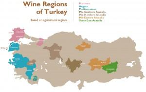 Turkse wijngebieden