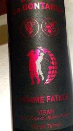 Domaine la Gontarde 2010, Femme Fatale, AOC Côtes du Rhône Villages Visan