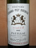 Chateau Grand-Puy Ducasse 1982