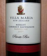 Villa Maria Private Bin Merlot Cabernet Sauvignon 2009