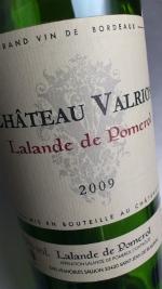 Chateau Valrion 2009 Lalande de Pomerol Bordeaux