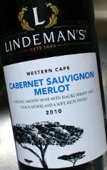 Lindeman's 2010, Cabernet Sauvignon en Merlot