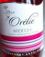 Orélie 2012, IGP Ardèche. Rosé, Frankrijk