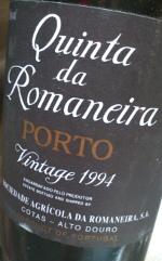 Quinta de Romaneira 1994, Vintage Port
