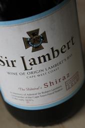 Sir Lambert 2010 Shiraz