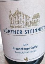 Günther Steinmetz 2011, Brauneberger Juffer, Riesling Kabinet, ...
