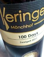 Keringer Mönchhof 2011, 100 days Zweigelt, Oostenrijk