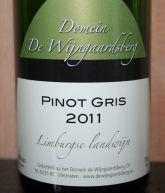 Domein de Wijngaardsberg Pinot Gris 2011