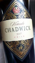 Vinedo Chadwick 2007, Cabernet Sauvignon, Chili