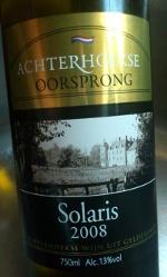 Achterhoekse oorsprong 2008, Solaris, Nederland