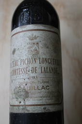 Chateau Pichon Lalande 1983
