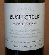 Bush Creek Petite Sirah 2010