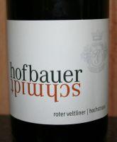 Hofbauer Schmidt Roter Veltliner 2011