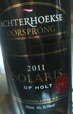 Achterhoekse Oorsprong 2011, Solaris op Holt. Achterhoek