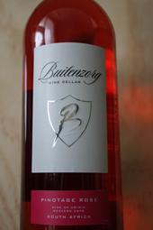 Buitenzorg Wine Cellars Pinotage Rosé 2012