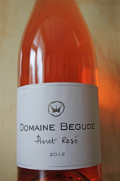 Domaine Begude Pinot Rosé 2012