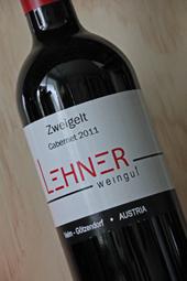 """Weingut Lehner """"Zweigelt Cabernet"""" 2011"""