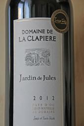 Domaine de La Clapiere Jardin de Jules 2012