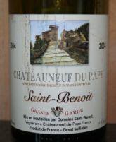 Domaine Saint Benoit 2004