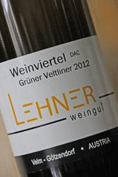 Weingut Lehner Grüner Veltliner 2012