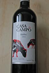 Casa de Campo Malbec 2012