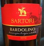 Sartori 2012, Bardolino,DOC Italië