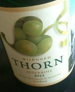 Wijngoed Thorn 2012, Auxerrois, Limburg, Nederland
