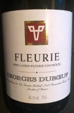 Georges Duboeuf, Fleurie 2011, Beaujolais Grand Cru, Frankrijk