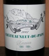 Xavier Chateauneuf du Pape 2007