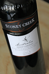 Stoney Creek Shiraz-Cabernet 2012