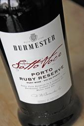 "Burmester ""Sotto Voce"" Ruby Reserve"