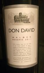 Don David, Malbec Reserve 2011 van Michel Torino Estate, Argentinië