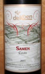 Wijndomein de Koen Cuvée Samen 2011