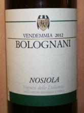 Bolognani Nosiola 2012