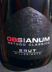 Obsianum 2008, Vino Spumante die Qualitá, Brut, Italië